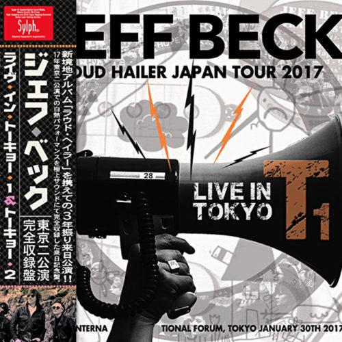 JEFF BECK - LIVE IN TOKYO 2017