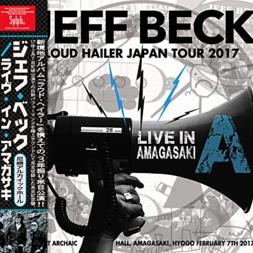 JEFF BECK - LIVE IN AMAGASAKI 2017