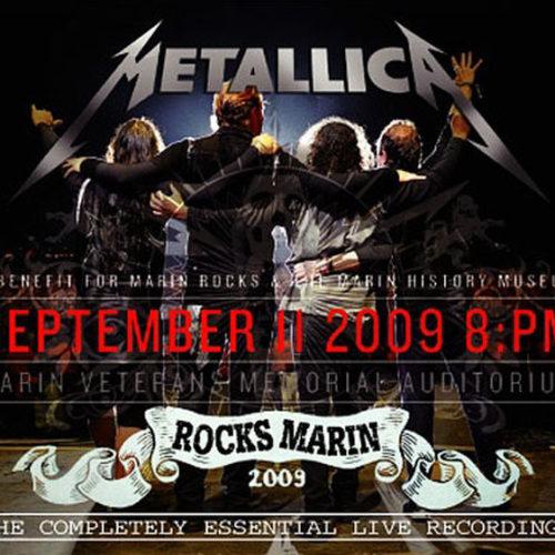 METALLICA / ROCKS MARIN -A Benefit For Marin Rocks-
