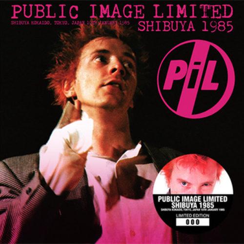 PUBLIC IMAGE LIMITED / SHIBUYA 1985