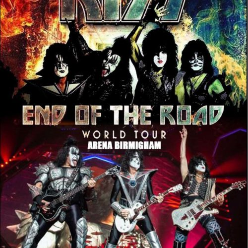 Kiss / End Of The Road World Tour Arena Birmingham