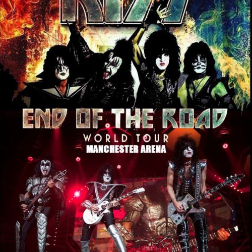 Kiss / End Of The Raod World Tour Manchester Arena