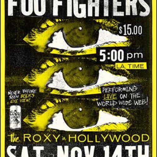 Foo Fighters / The Roxy