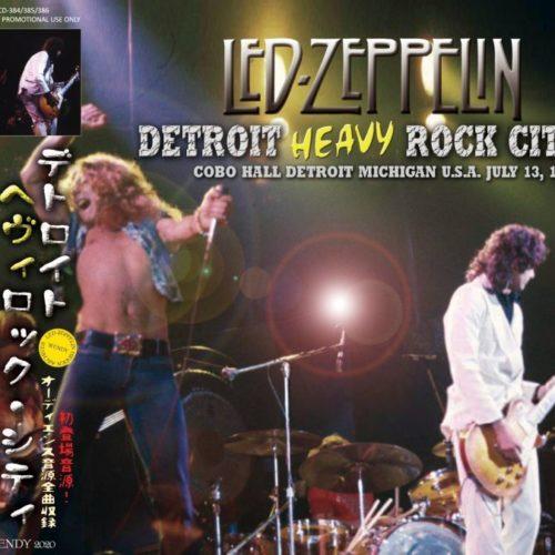 LED ZEPPELIN / 1973 DETROIT HEAVY ROCK CITY