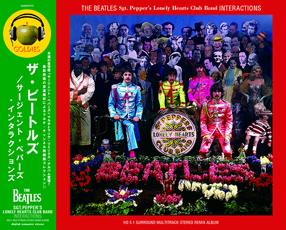 THE BEATLES / SGT. PEPPER'S LONELY HEARTS CLUB BAND - INTERACTIONS