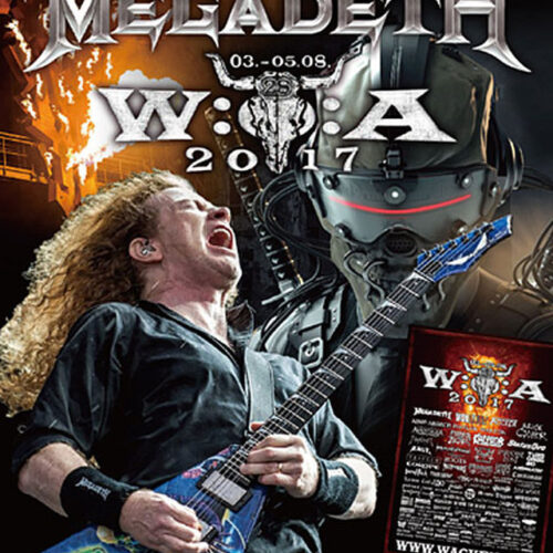 MEGADETH / WACKEN OPEN AIR 2017 (1BDR)