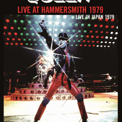 QUEEN / LIVE AT HAMMERSMITH 1979+JAPAN