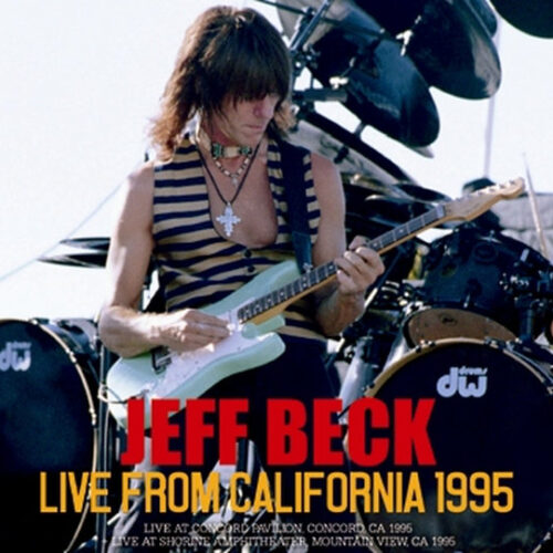 JEFF BECK / LIVE FROM CALIFORNIA 1995 (2CDR)
