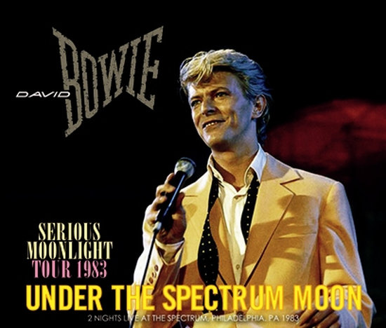 DAVID BOWIE / UNDER THE SPECTRUM MOON