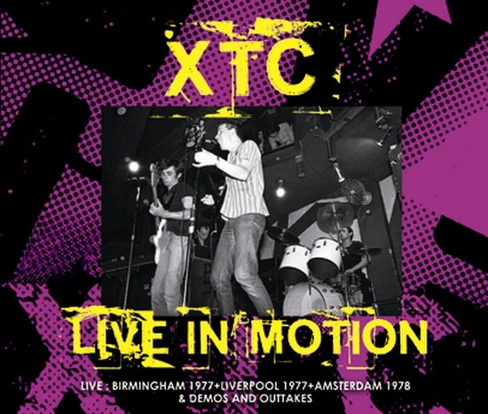 XTC / LIVE IN MOTION