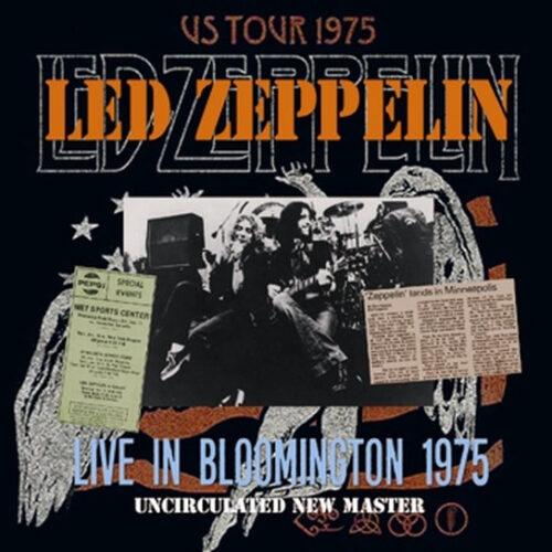 LED ZEPPELIN / LIVE IN BLOOMINGTON 1975